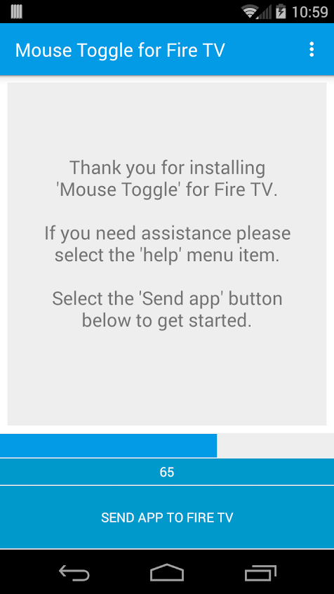 Mouse Toggle for Fire TV Apk v1.10